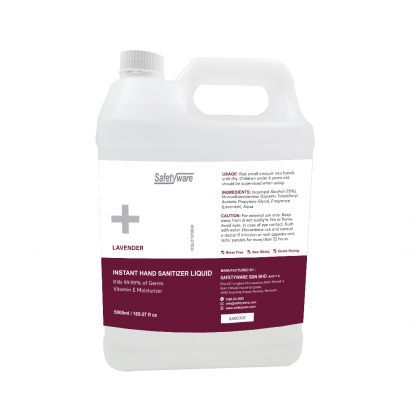 SAFETYWARE Hand Sanitizer Liquid - HSL01